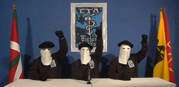 Vídeo mostre três supostos membros do ETA, mascarados, comemorando o anúncio da trégua nesta segunda-feira (10).