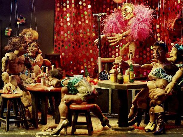 Bonecos da série Los Grumildos, de Ety Fefer