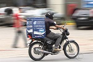 Novas regras para motoboys (Foto: Reprodução TV Globo)