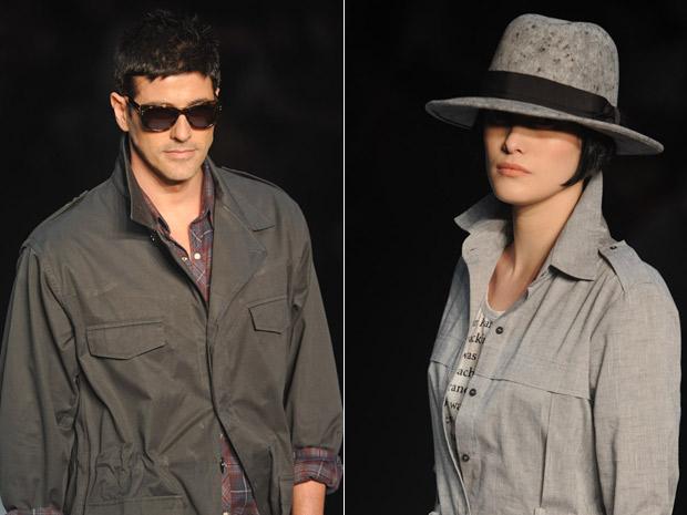 Reynaldo Gianecchini e Mayana Moura Fashion Rio