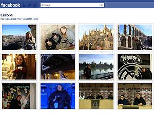Álbum de fotos do Facebook