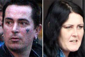 Andrew Donaldson e Karen Waters foram condenados por sexo em cemitério.