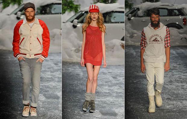 Desfile da  Ausländer encerrou o Fashion Rio com a participação do top da Dior, Cole Mohr