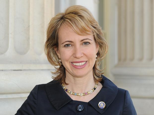 A deputada Gabrielle Giffords em foto de março de 2010 (Foto: AP)