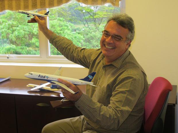 Pedro Janot, presidente da Azul Linhas Aéreas, prevê crescimento entre 15% e 18% para o setor em 2011