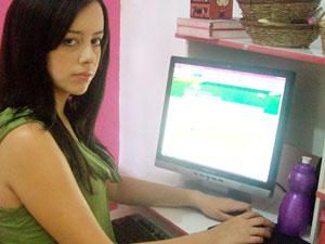 Letice Uchôa disse que entrou na página de um estudante ao colocar sua senha no site do SiSU