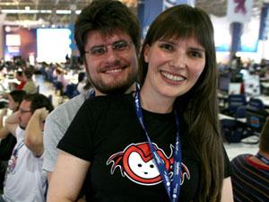 Barbara Miotto e Stephan Martins se conheceram na Campus Party de 2010
