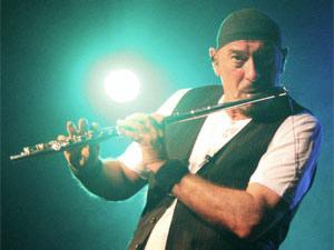 O músico Ian Anderson