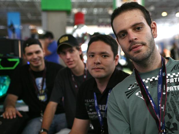 Amigos na Campus Party 2011