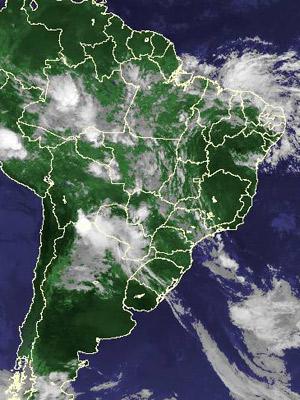 Imagem de satélite de quinta-feira (20)