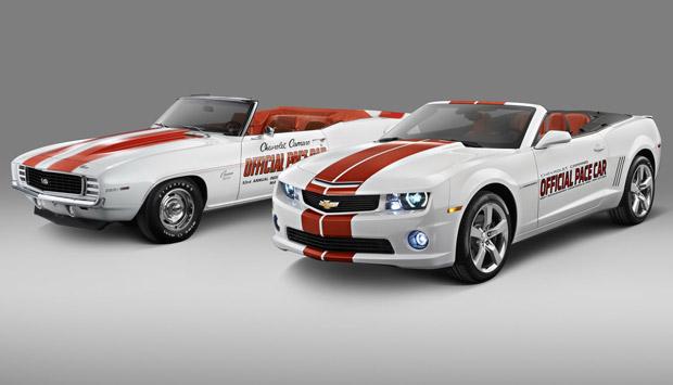 Chevrolet Camarro SS Convertible é o carro oficial da Indy 500