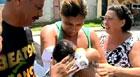 Sequestrado em casa, bebê é achado pelo avô (Reprodução / TV Globo)
