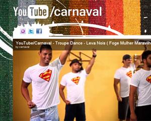 Canal do Carnaval em Salvador no YouTube