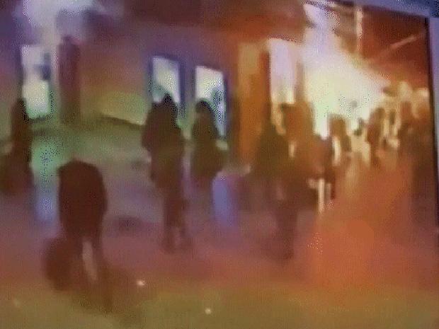 Câmera de segurança flagra momento da explosão