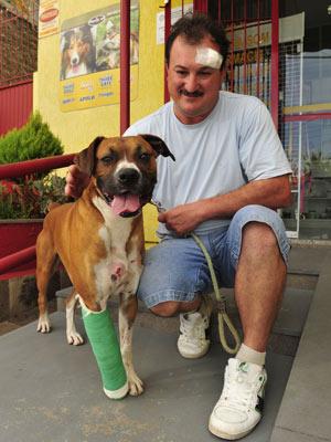 Max salvou vida de dono em assalto em Garibaldi (RS)
