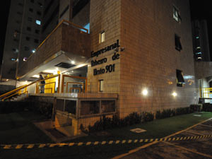 Prédio empresarial é interditado após suspeita de abalo no Recife