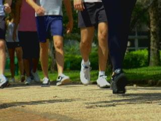 Caminhar faz bem para a saúde