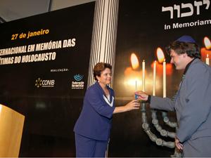 Presidenta Dilma Rousseff participa de cerimônia alusiva ao Dia Internacional em Memória das Vítimas do Holocausto