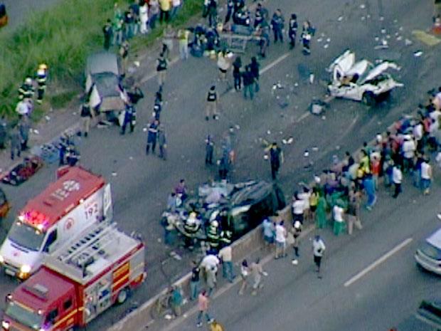 Acidente no Anel Rodoviário de Belo Horizonte