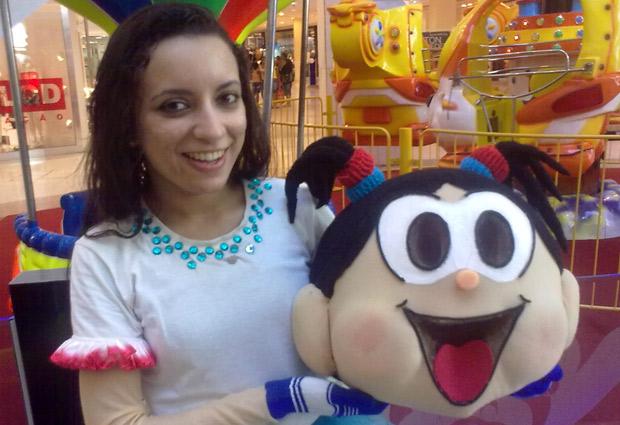 Tássia interpretou Magali por cinco anos nas ruas do Rio