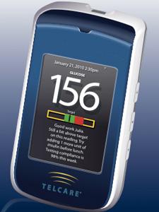 Medidor de glicose com transmissão 3G