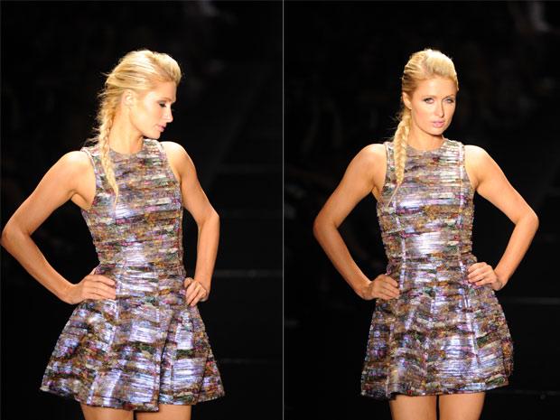 Paris Hilton na SPFW