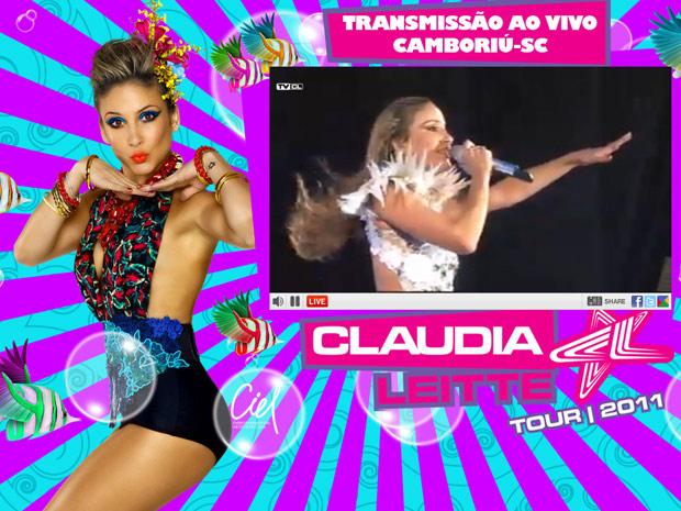Claudia Leitte lança canal de TV on line para transmitir carnaval de Salvador