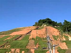 Morro do Bumba já está praticamente recuperado