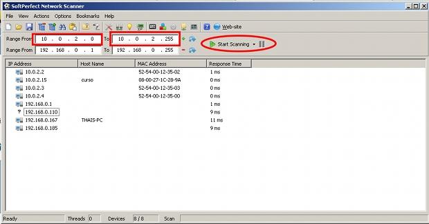 SoftPerfect Network Scanner é um programa que auxilia no monitoramento de redes sem fio