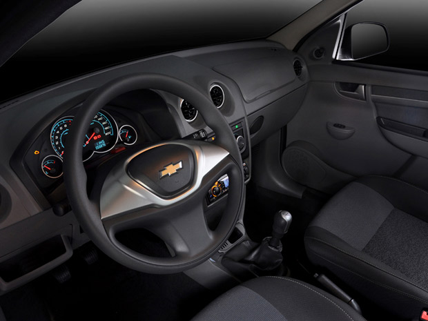 Interior do novo Chevrolet Prisma
