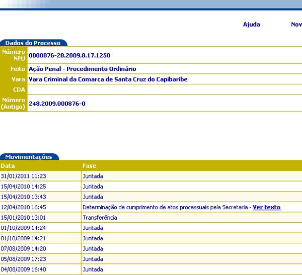 Ação penal que investiga o deputado José Augusto Maia