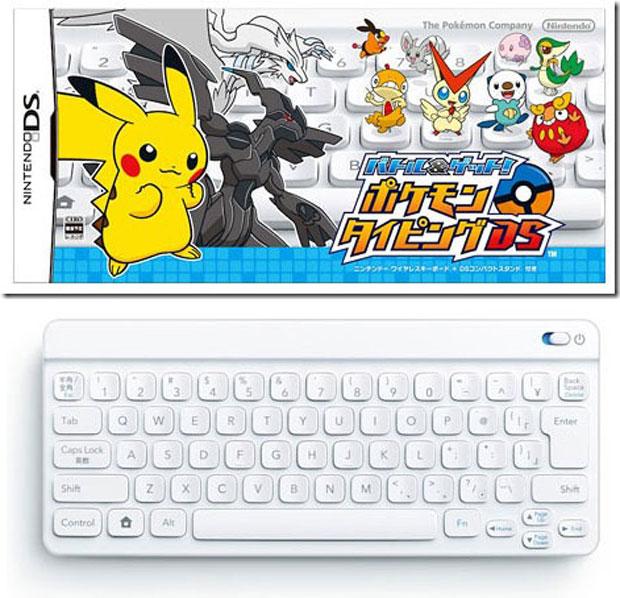 Nintendo lançará game para as crianças aprenderem a digitar com os Pokémons