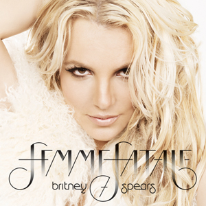 A capa do disco de Britney Spears