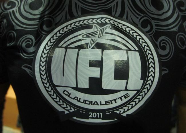 Claudia Leitte criou o UFCL para homenagear amigos lutadores da categoria esportiva (Foto: Glauco Araújo/G1)