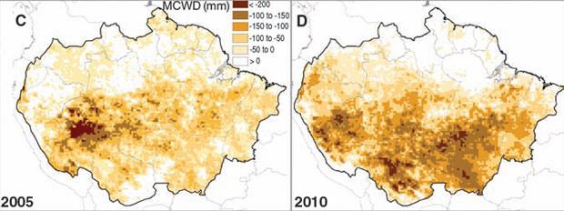 Science déficit  de água (Foto: Reprodução)