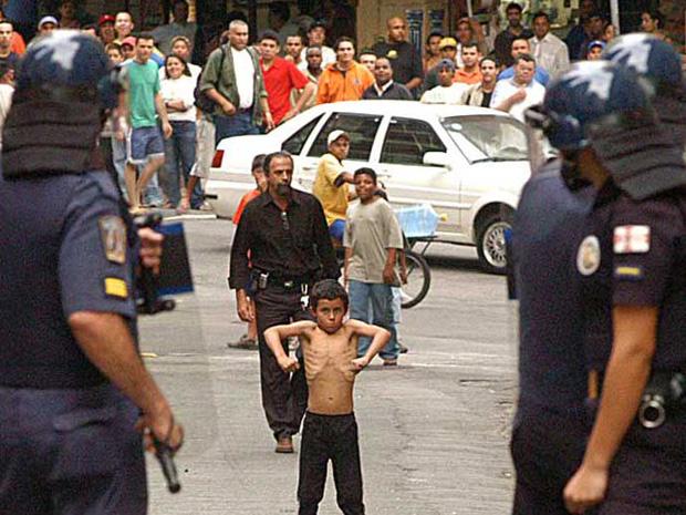 Manifestação no Líbano  (Foto: Divulgação/ Evandro Monteiro)