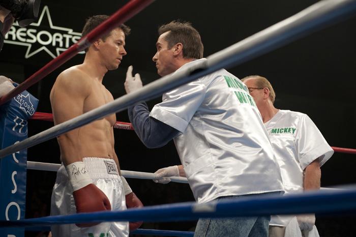 Mark Wahlberg e Christian Bale em cena de 'O vencedor' (Foto: Divulgação/Divulgação)