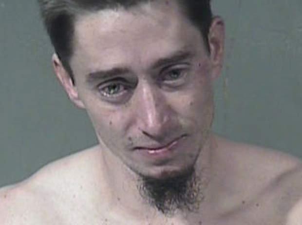 O americano Donald Calvert, de 31 anos, foi preso em Phoenix, no estado do Arizona (EUA), depois de ser flagrado correndo nu.  Ele foi acusado de exposição indecente, segundo a emissora de TV 'Fox'. (Foto: Reprodução)