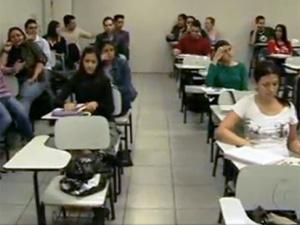 Abandono de estudantes nas universidades provoca prejuízo (Foto: TV Globo/Reprodução)
