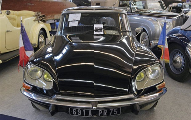 Este Citroën DS 23 foi o carro oficial do presidente Giscard d'Estaing (Foto: AFP)