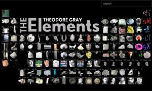 Aplicativo The Elements para iPad (Foto: Reprodução)