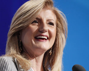 Arianna Huffington, cofundadora e editora-chefe do Huffington Post, vai ser presidente e editora-chefe do Huffington Post Media Group (Foto: Mark Lennihan/AP)