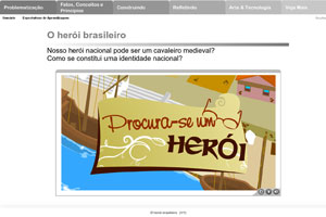 Material digital da Pearson para tablet (Foto: Divulgação)
