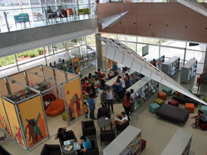 Biblioteca de São Paulo, Parque da Juventude, Interior (Foto: Mário Silva/Divulgação)