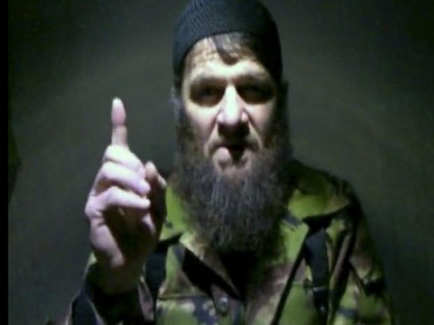 Doku Umarov reivindicou atentado contra aeroporto de Moscou através de um vídeo. (Foto: The Kavkaz Center/AP)