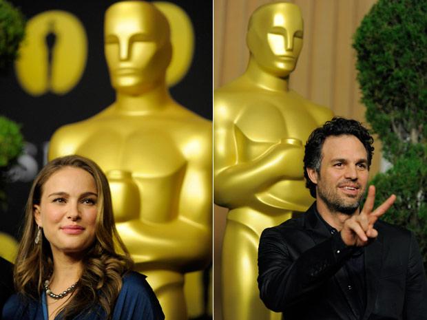 Almoço pré-Oscar 2011 (Foto: AP/AP)