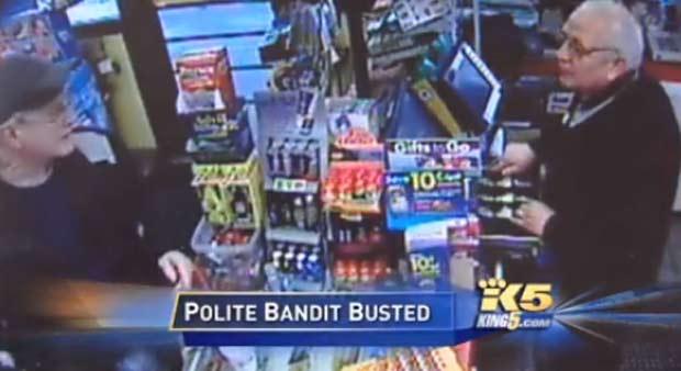 Assalto foi filmado pelas câmeras de segurança da loja. (Foto: Reprodução)