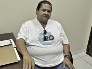 Frei suspeito de pedofilia em MT (Foto: Kelly Martins/TVCA)