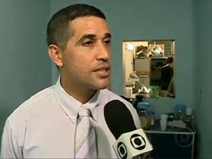 Delegado da Polícia Federal do Rio - Marcelo Daemon (Foto: Reprodução / TV Globo)