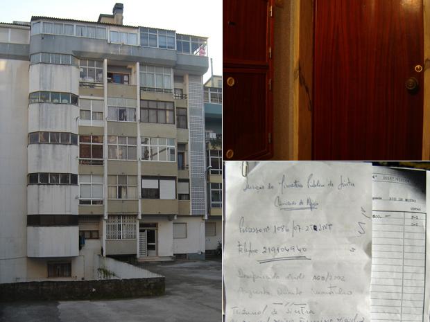 prédio porta documentos portugal (Foto: Vitor Sorano/G1)